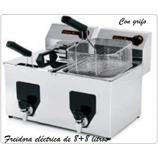 Freidora eléctrica FF 10+10 NV
