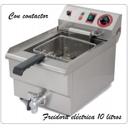 Freidora  c/grifo FRY-10 Potenciada