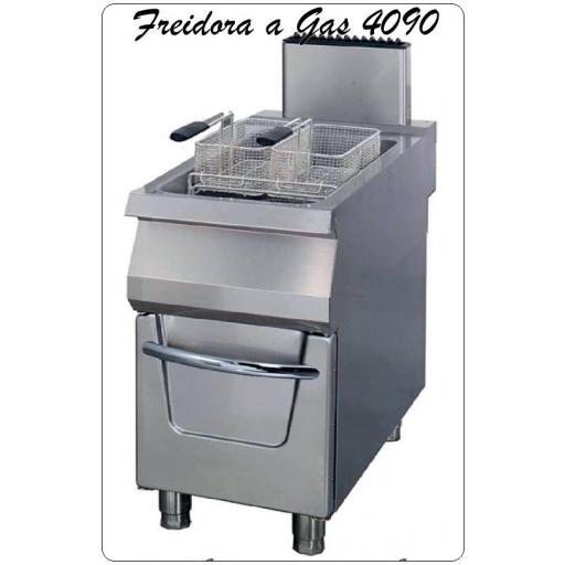 Freidora a gas OFGI-4090-22 Litros