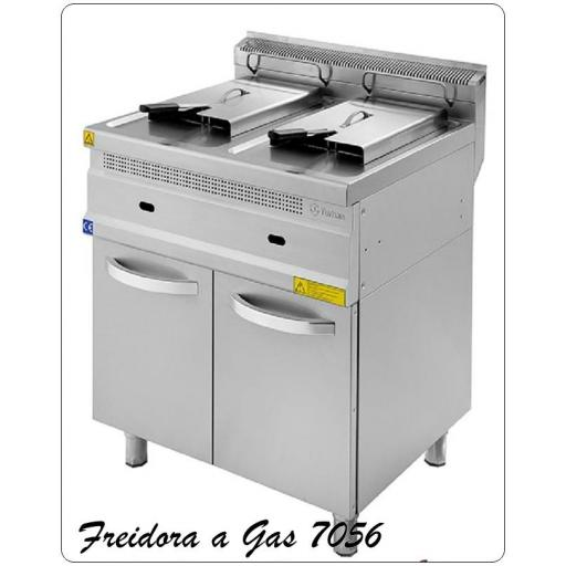 Freidora a Gas 7056-15+15 litros [0]
