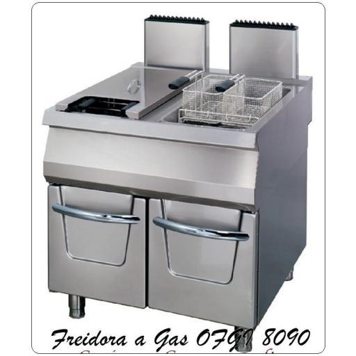 Freidora a gas OFGI-8090-22+22 Litros