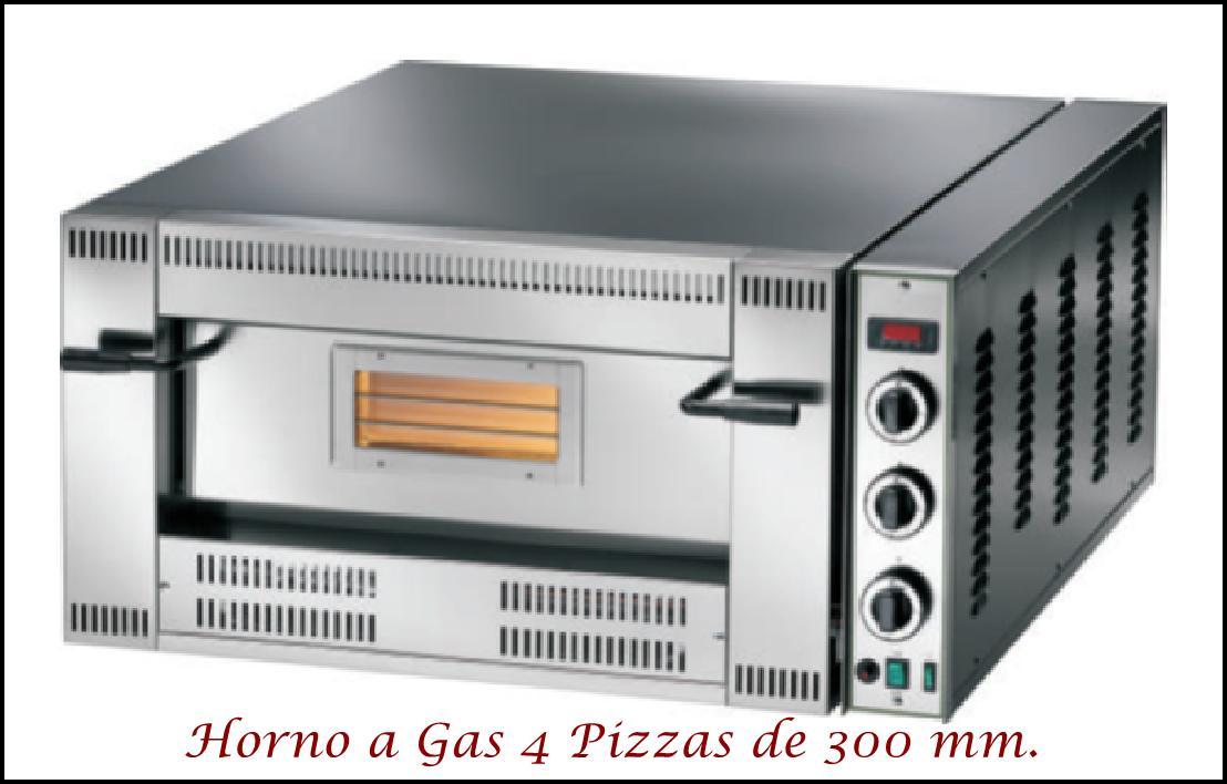 Horno Pizzas FGI-6 a Gas