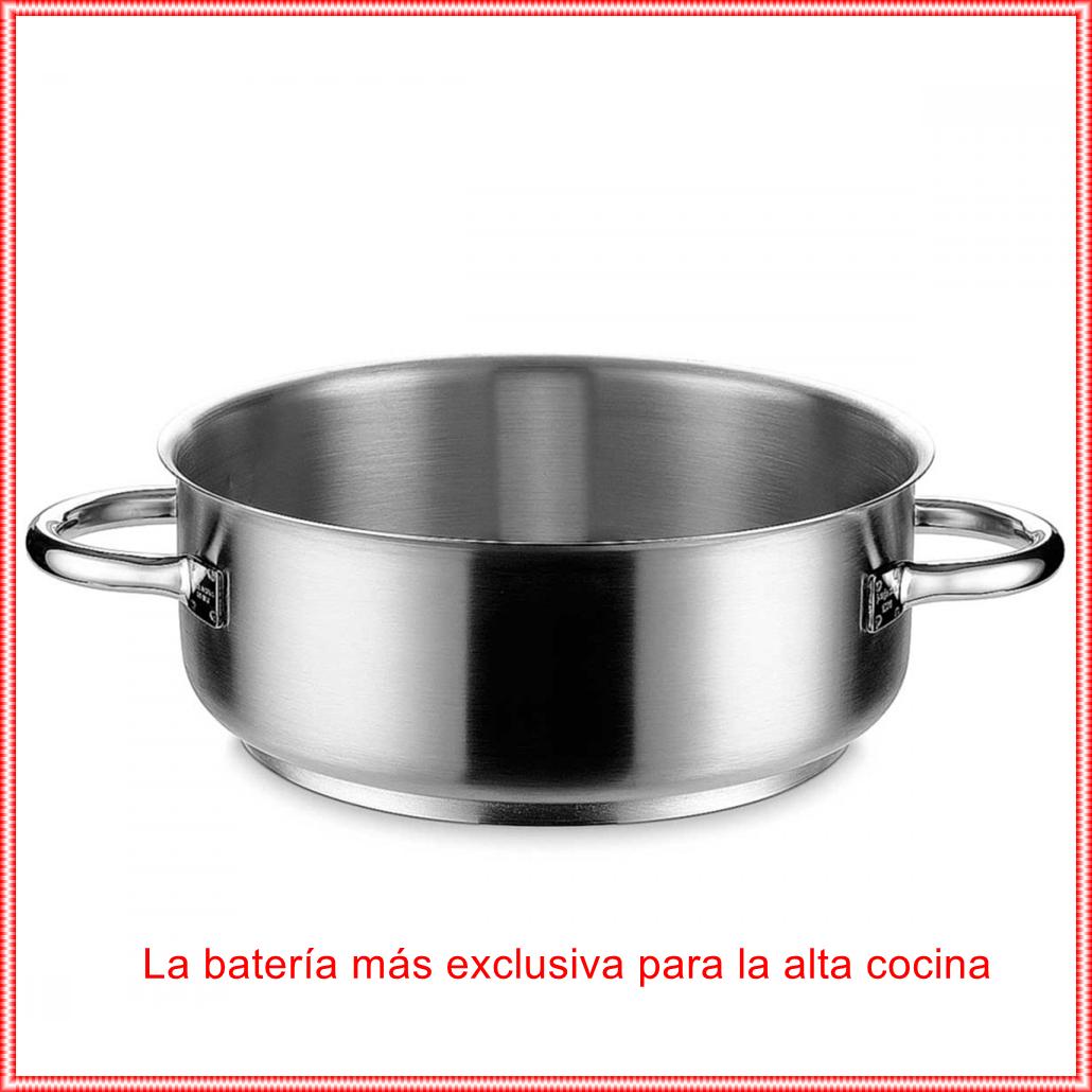 CACEROLA BAJA INOX PRO