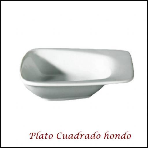 Plato Cuadrado con mango [0]