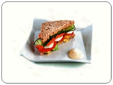Plato Gastro Sandwich 17,5 cm.