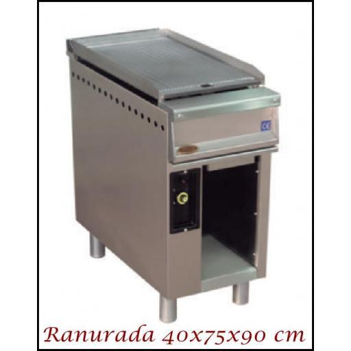 Fry-Top SF-400M Ranurado