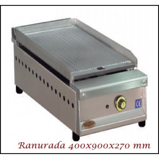 Fry-Top SF-409 Ranurado