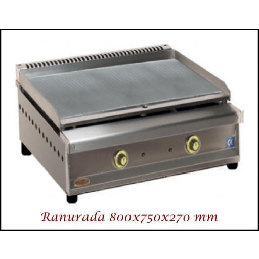 Fry-Top SF-800 Ranuradoss