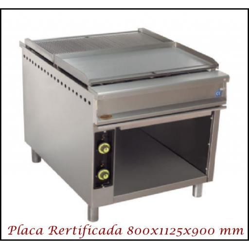 Fry-Top central SF 800CM Rectificado