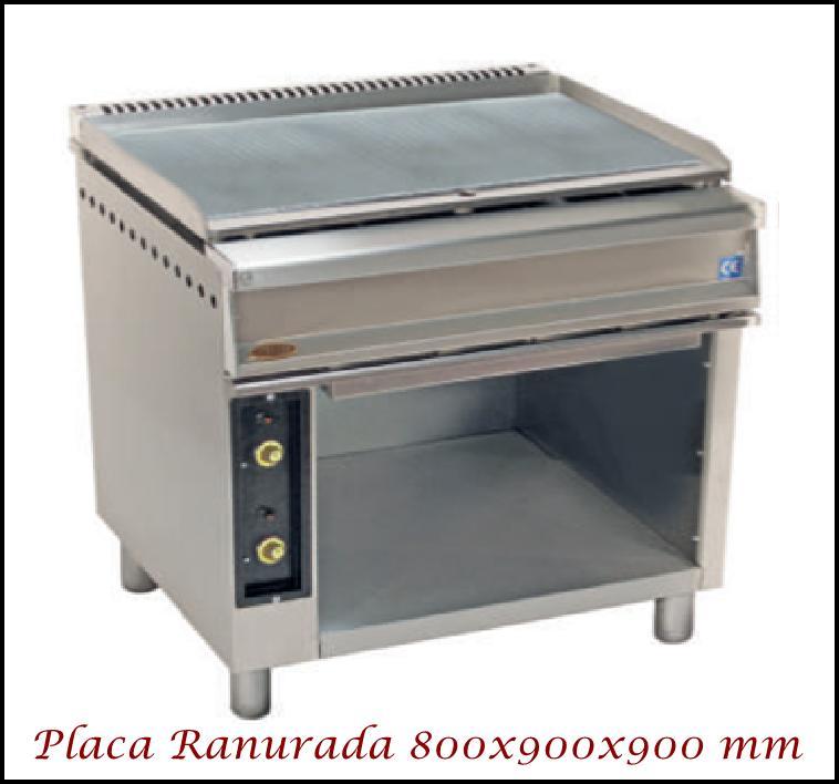 Fry-Top SF 809M Ranurado