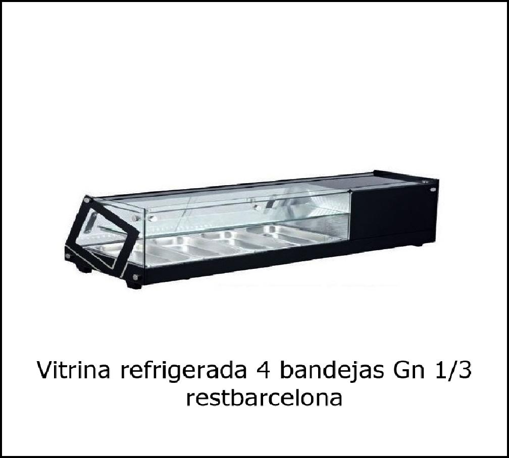 Vitrina  refrigerada VRC-4.