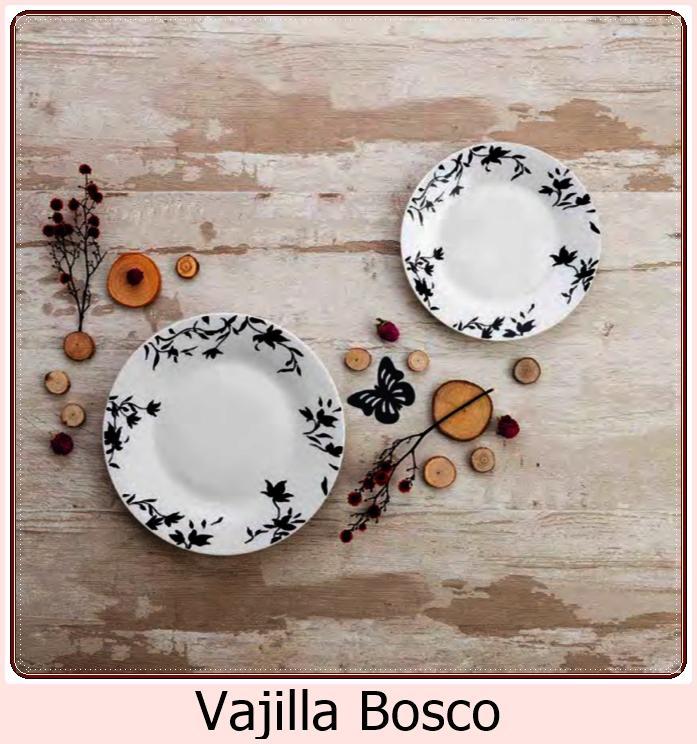 Vajilla Bosco. Caja 18 piezas