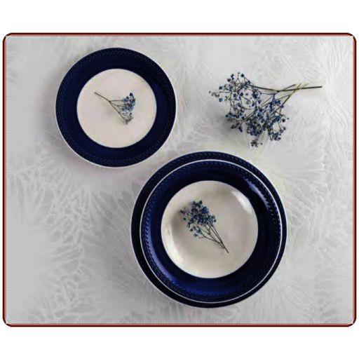 Vajilla Donna color azul. Caja 18 piezas QUID [0]