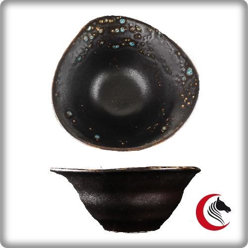 Bowl irregular Oxidum  16 Blue