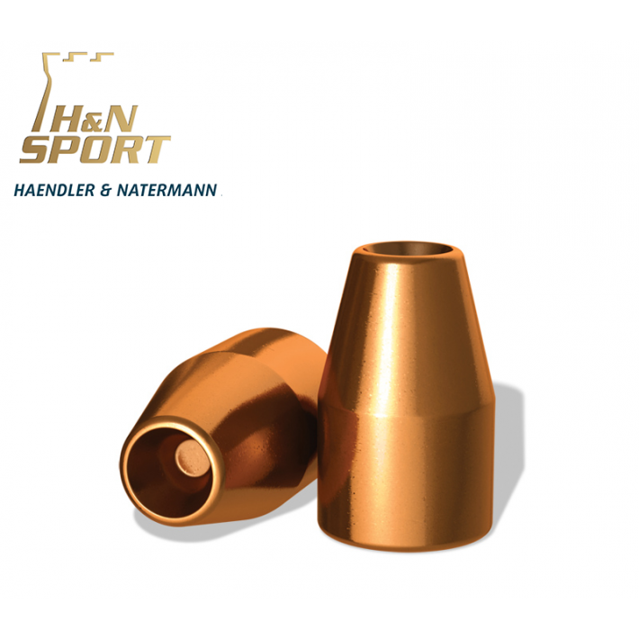 Puntas H&N HS HP 9mm (.356) - 125 grains - 100 unidades