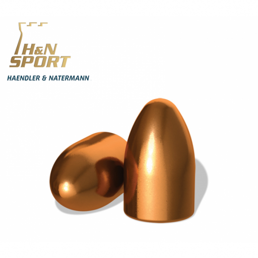 Puntas H&N HS RN 9mm (.356) - 125 grains - 100 unidades