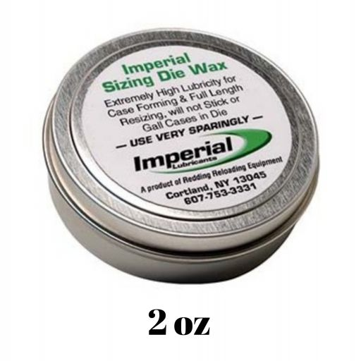 LUBRICANTE REDDING IMPERIAL SIZING DIE WAX - 2 oz