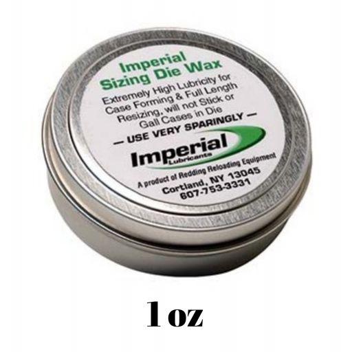 LUBRICANTE REDDING IMPERIAL SIZING DIE WAX - 1 oz [0]