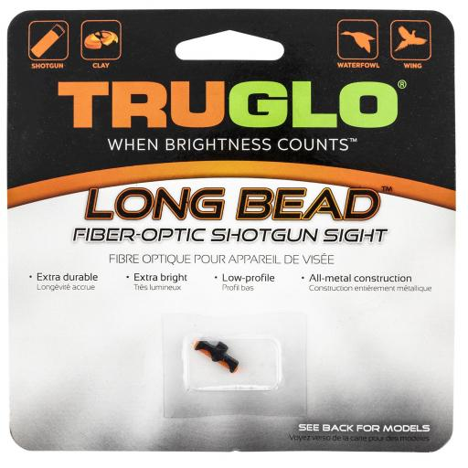 Punto de fibra óptica TRUGLO®  LONG BEAD - ROJO - 3 mm [1]