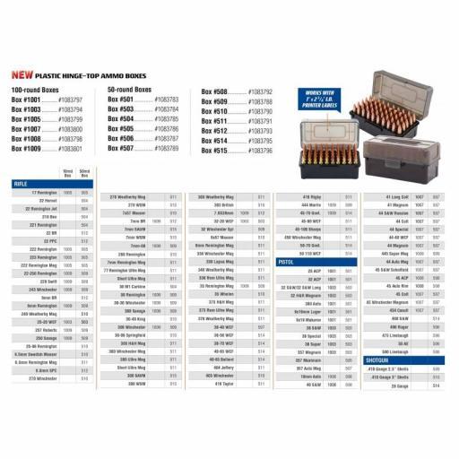 Caja Frankford HINGE -TOP 44 Mag.-45Long Colt(507) 50 und. [1]