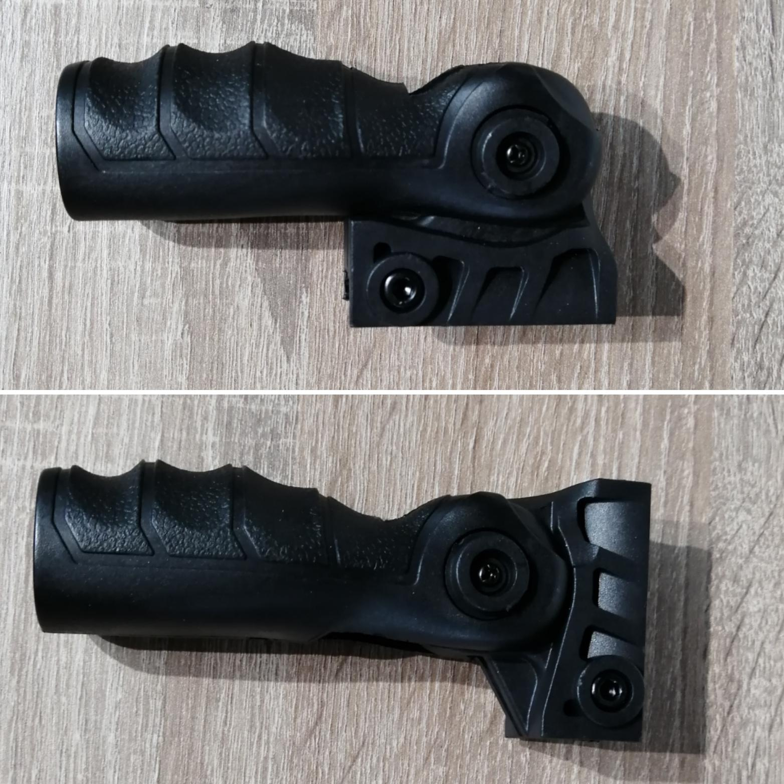 Empuñadura plegable - 6 posiciones