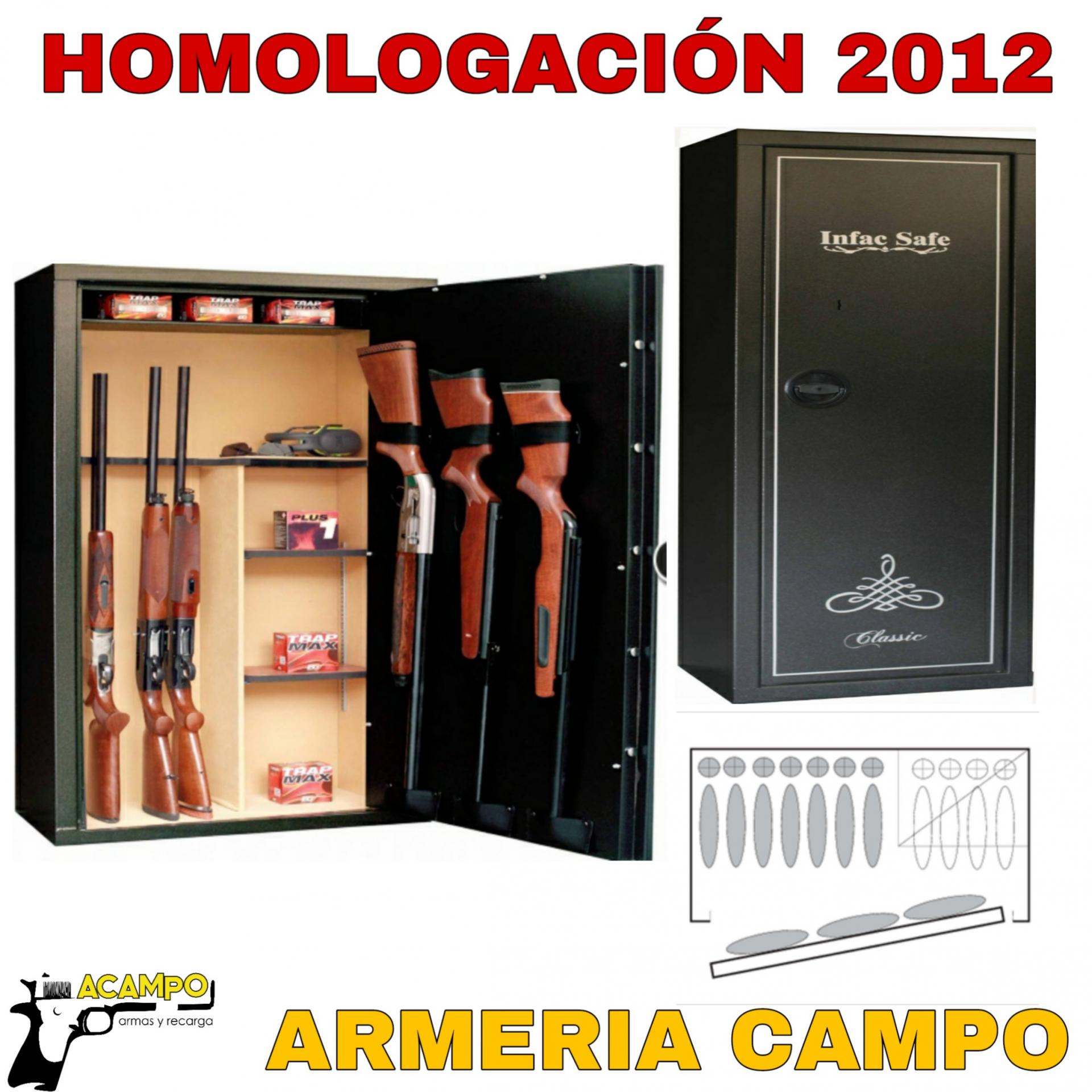 ARMERO INFAC MKP14 - Grado I