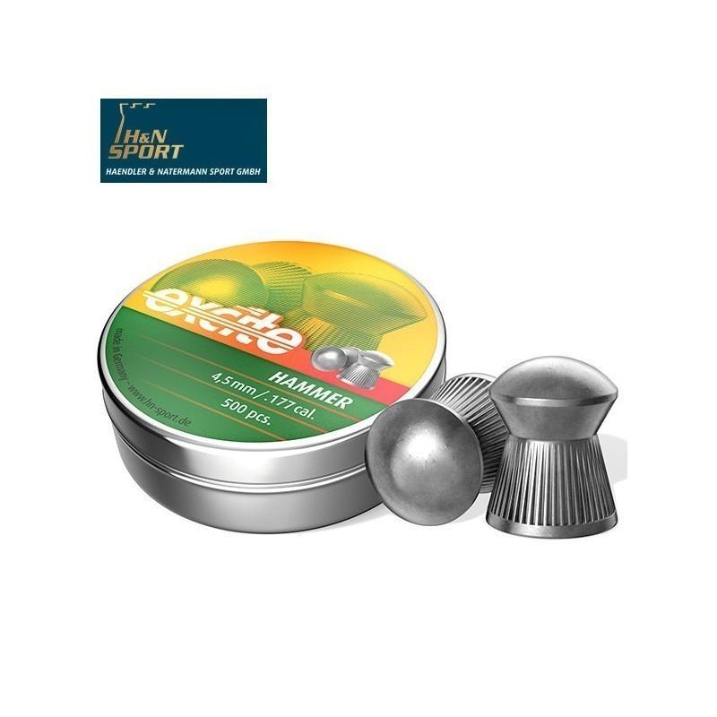 BALINES H&N EXCITE HAMMER - 4.50MM (.177) - 500 und.