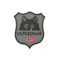 Parche logo Ulfhednar 8 cm