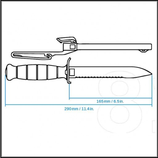 Cuchillo GLOCK 81 SIERRA - VERDE OD [2]