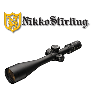 Nikko Stirling Diamond Long Range 10-40x56 retícula Half Mildot (HMR)