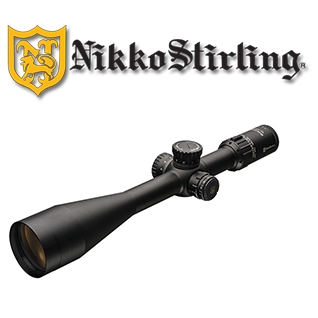 Nikko Stirling Diamond Long Range 10-40x56 retícula Half Mildot (HMR)