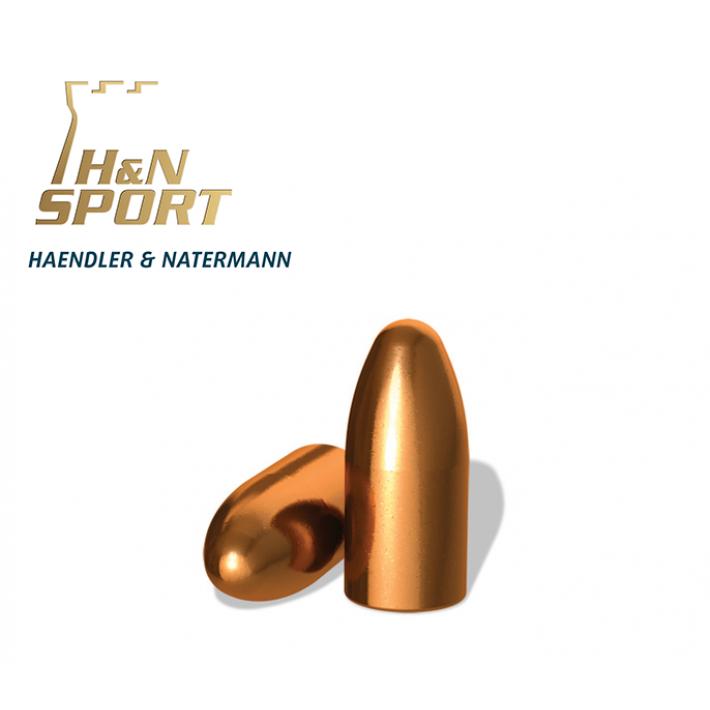 Puntas H&N HS RN .224 - 55 grains - 100 unidades