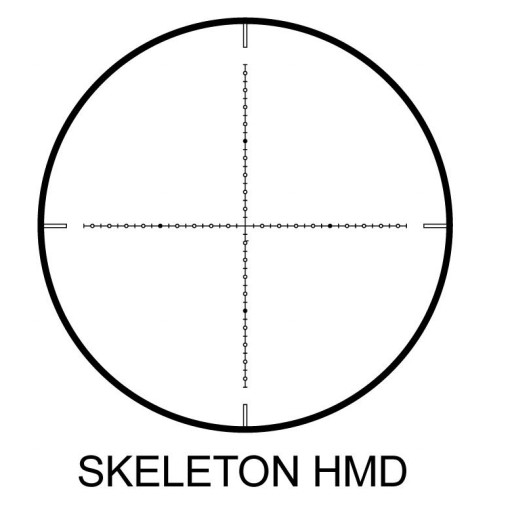 Nikko Stirling Diamond Long Range 10-40x56 retícula Half Mildot (HMR) [1]