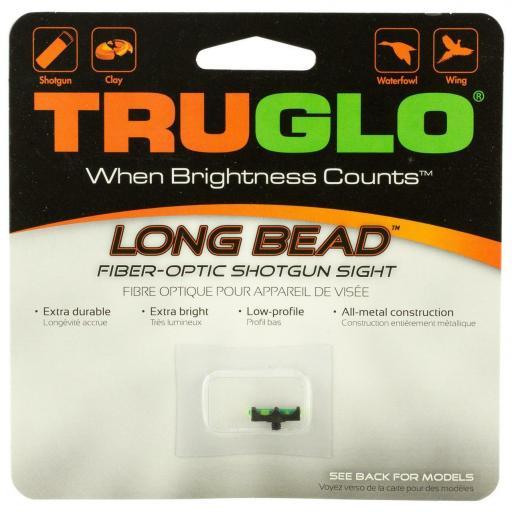 Punto de fibra óptica TRUGLO®  LONG BEAD - VERDE - 3 mm [1]