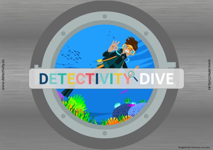 Juegos de pistas Detectivity Dive (ESP)