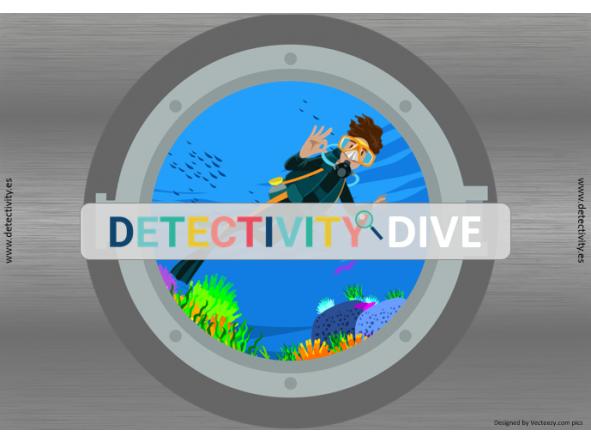 Juego de pistas Detectivity Dive  (CAT)