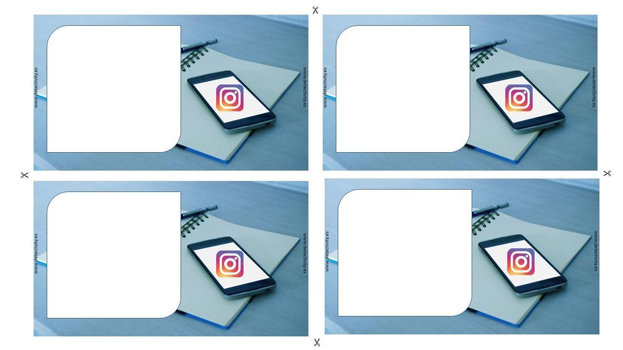Invitación Detectivity Instagramers