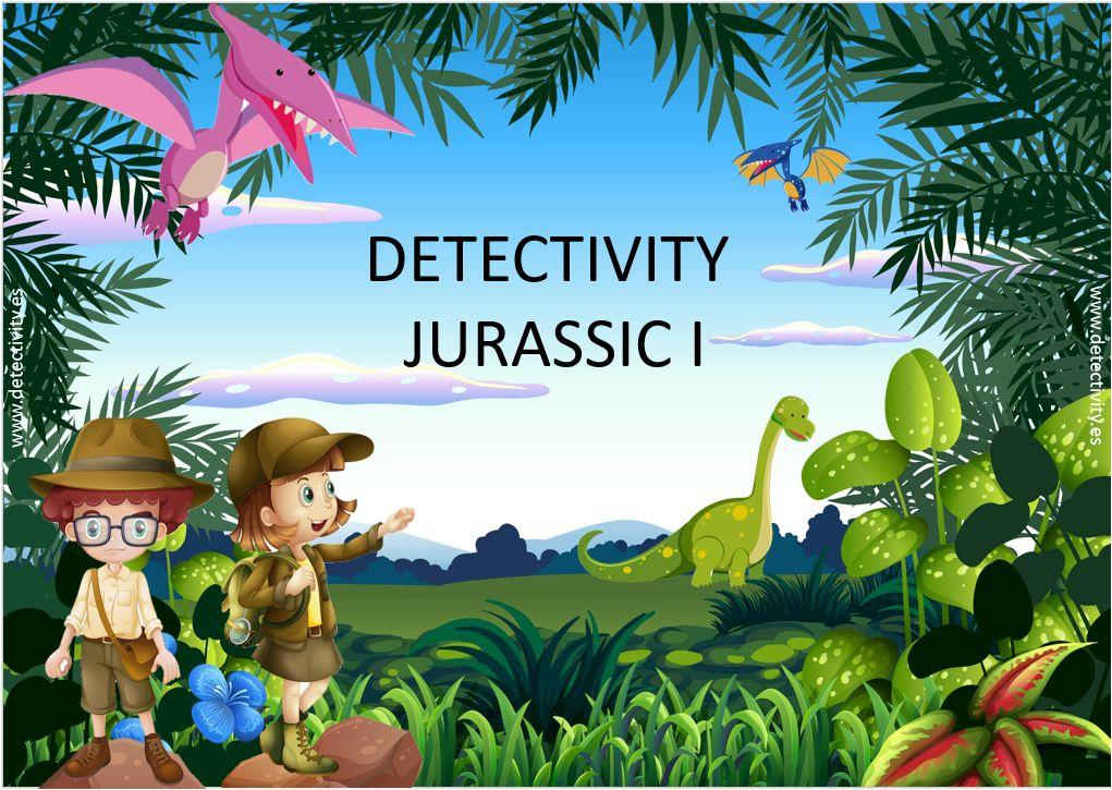Juego de pistas Detectivity Jurassic I (ESP)
