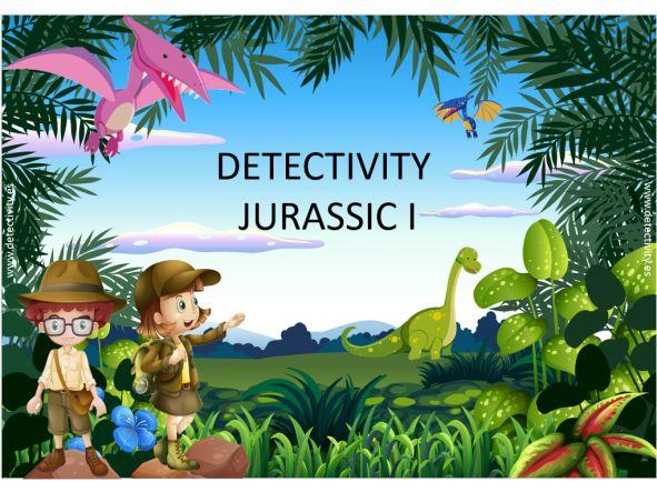 Juego de pistas Detectivity Jurassic I (CAT)