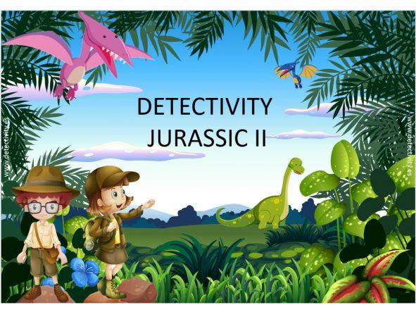Juego de pistas Detectivity Jurassic II (ESP)