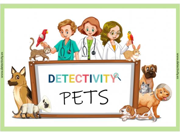 Juego de pistas Detectivity Pets Mascotas (CAT)