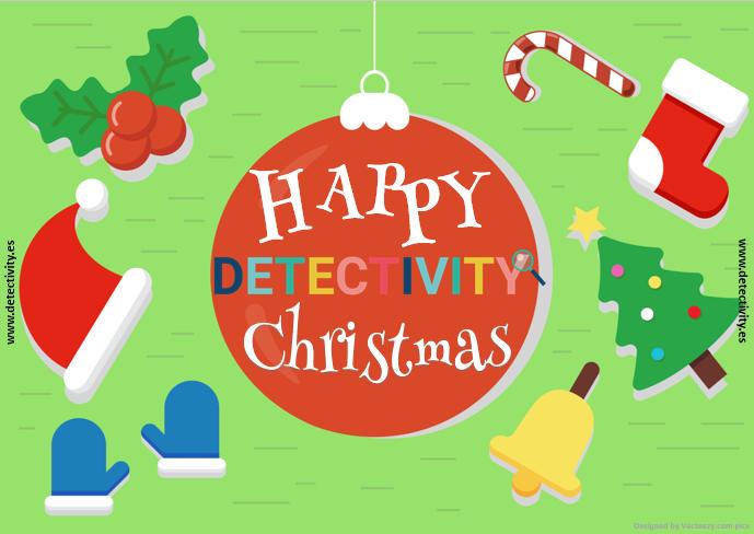 Joc de pistes Detectivity Happy Christmas (CAT)