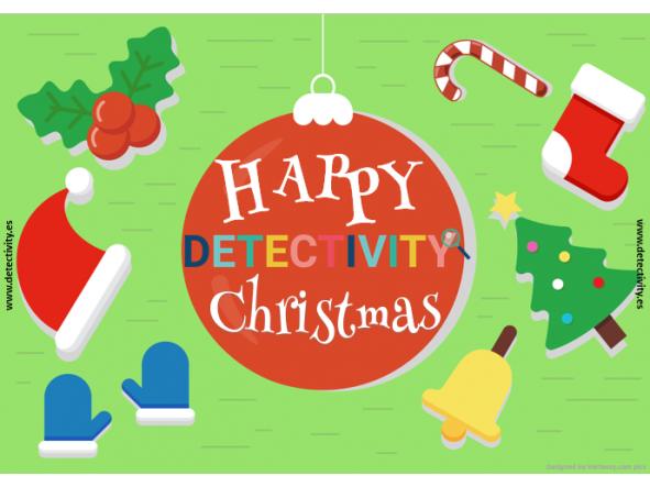 Joc de pistes Detectivity Happy Christmas (CAT) [0]