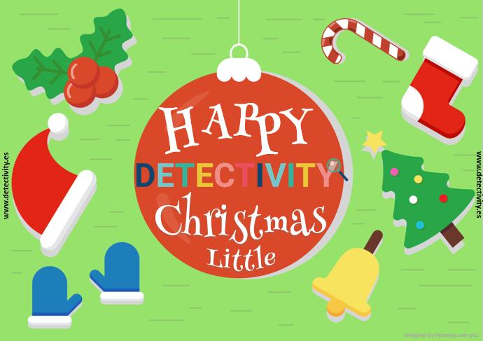 Joc de pistes Detectivity Happy Christmas little version (CAT)