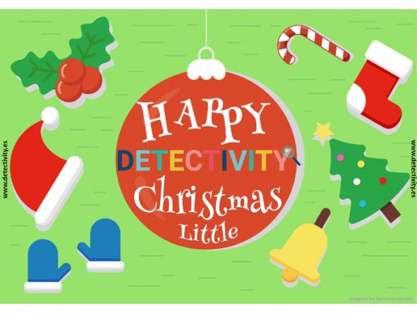 Joc de pistes Detectivity Happy Christmas little version (CAT) [0]