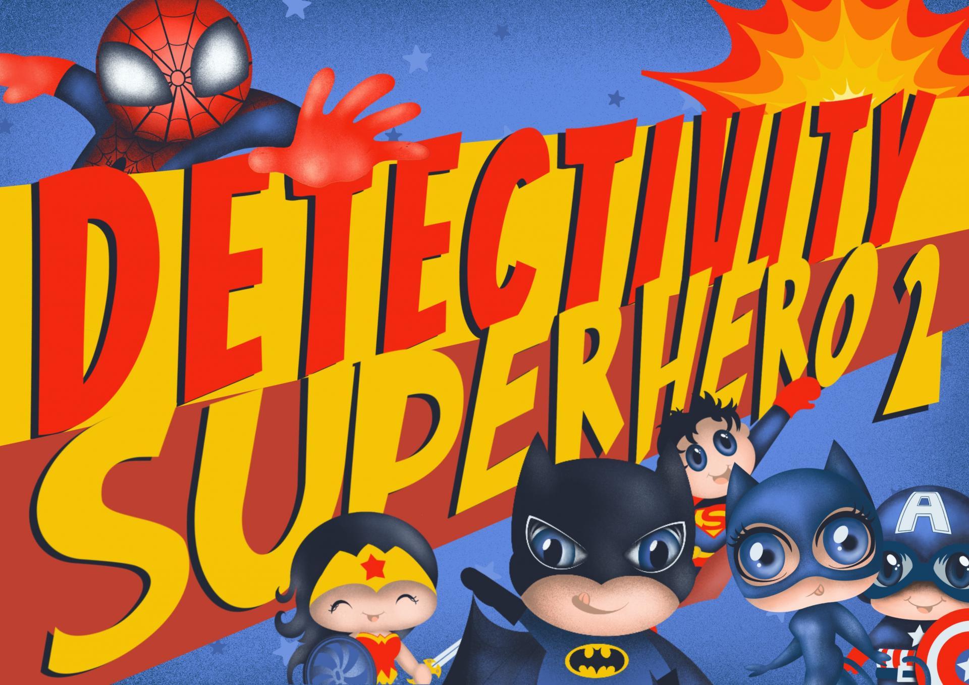 Juego de pistas Detectivity Superhero 2 (CAT)