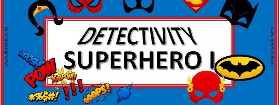 Juego de pistas Detectivity Superhero 1