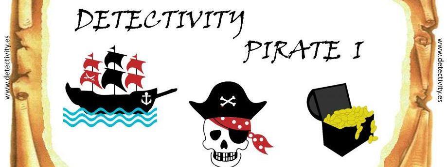 Colección de Juegos de pistas Detectivity Pirate