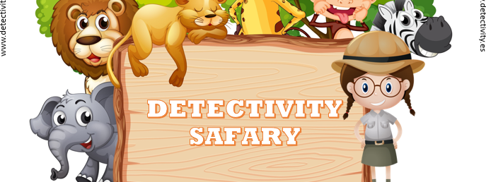 Juego de pistas Detectivity Safary