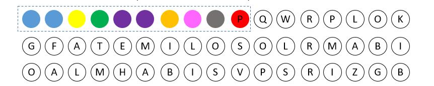 Las series de colores en Detectivity